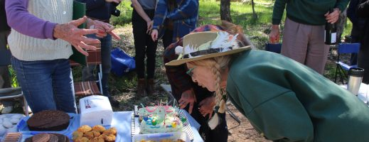 A pearler of a celebration for Friends of Aranda Bushland